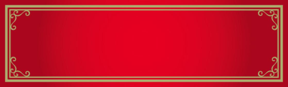 裝飾框架紅色