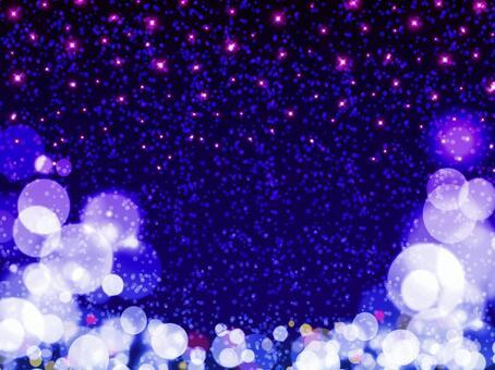 Pink star · blue world