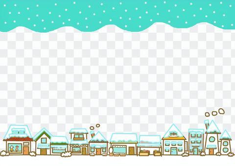 購物拱廊框架冬天