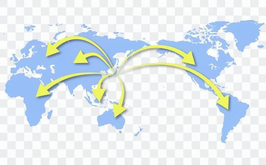 世界地圖⑤