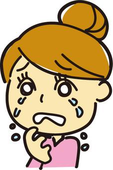 woman子女人哭