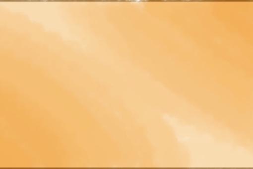Watercolor style background orange