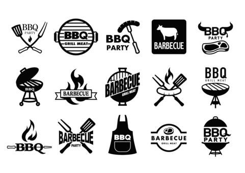 BBQ mark (black)