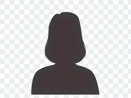 Person illustration icon