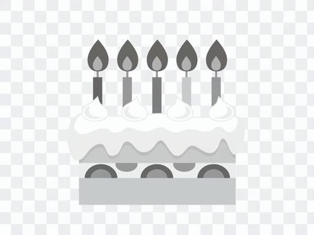 生日蛋糕(單色)
