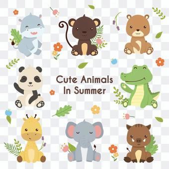 Cute animal character