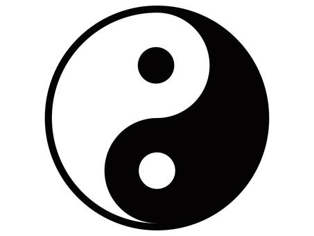 Yin Yang Taijitu Yin Yang Mark Icon