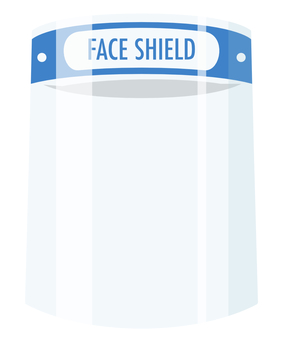 面罩半透明