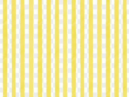 水彩邊框(薄)黃色