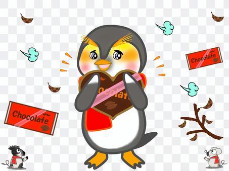 動物_企鵝_情人節巧克力
