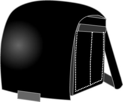 Black cell bag