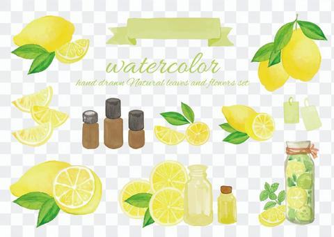 水彩檸檬香薰油