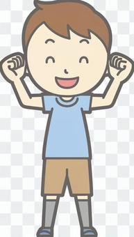 男孩短袖a  -  Wakuwaku  - 全長
