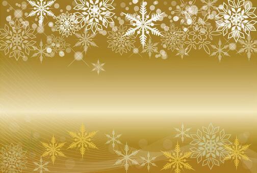 雪框架背景