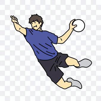 Handball player male