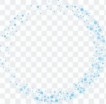 閃粉戒指淡藍色