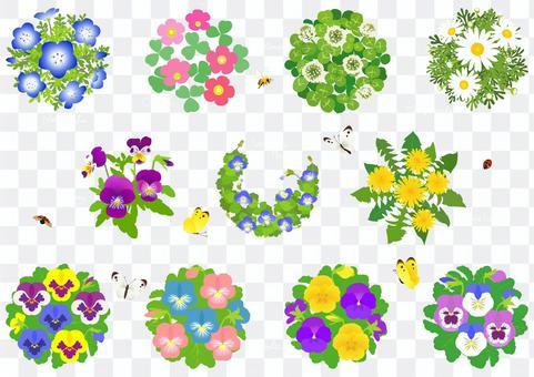 春季花卉材料1