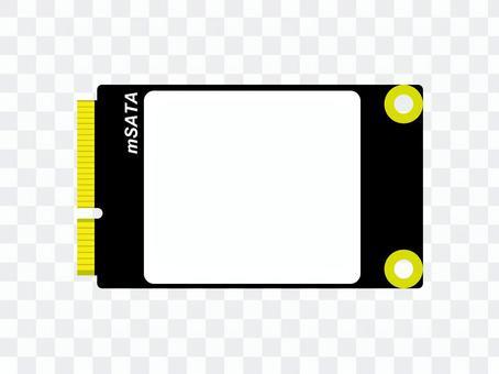簡單的mSATA SSD圖標