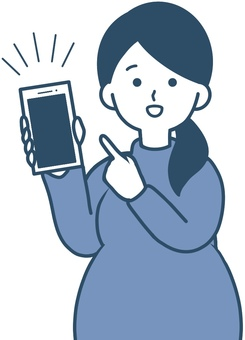 Pregnant women who recommend useful apps