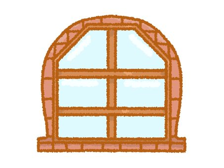 板條箱窗口