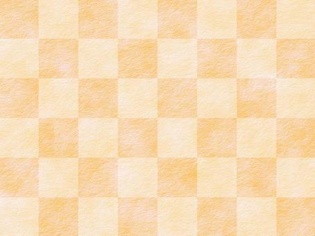 日本紙橙色