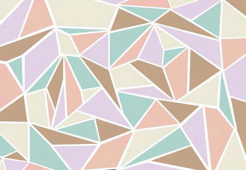 瓷磚多邊形壁紙