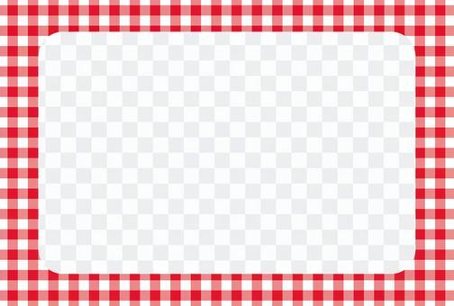 檢查相框POSCA 01 [透明]