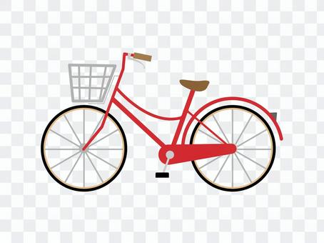 紅色自行車