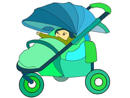 嬰兒車02