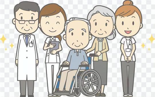 Hospital member gathering-long-term care