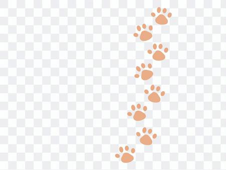 Pink paws ☆ dogs, cats, felines ☆ footprints