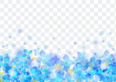 季節性事件材料005繡球花背景