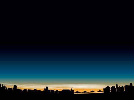 城市3000的夜景