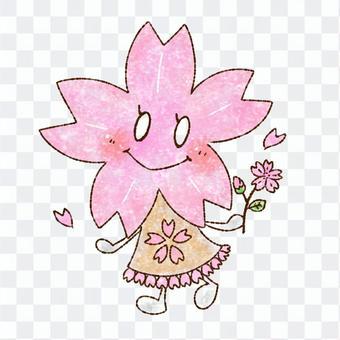 ほほえみ桜のキャラクター