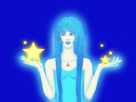 [Spiritual art] To you in Libra