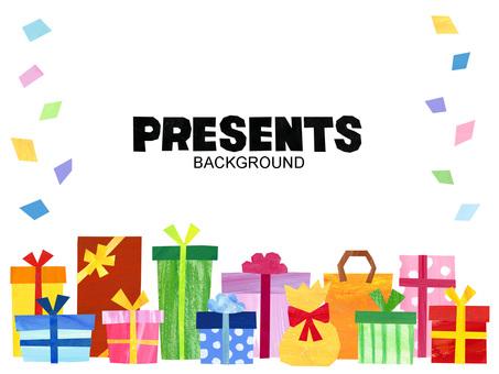 禮物背景/框架