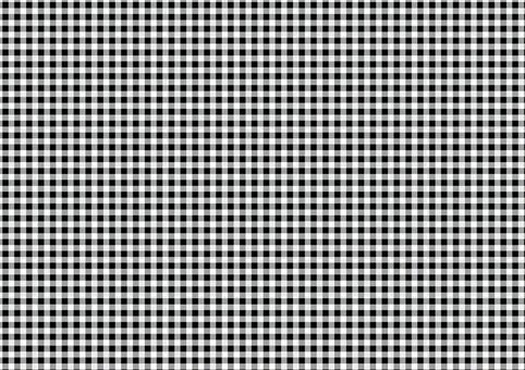 格子檢查紋理05 [黑色]