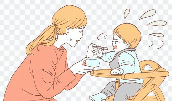 不喜歡嬰兒食品的寶寶(簡單)
