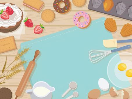 Make baked confectionery