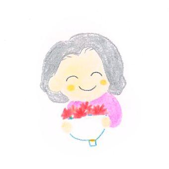 白髮母親節