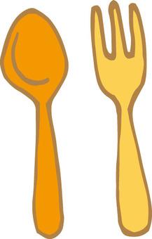 Cutlery (Honka · Spoon Fork)