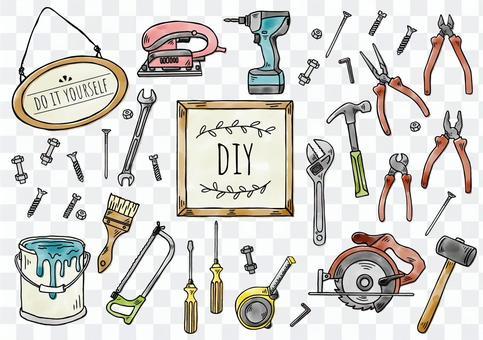 手繪插圖:DIY顏色