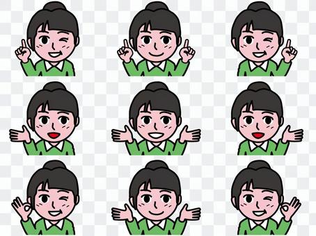 Ichi A_Face概述36_Schoolgirl B