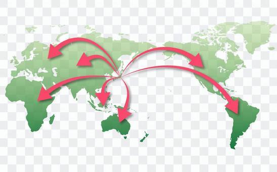 世界地圖⑧