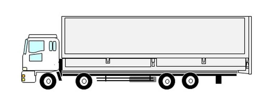 10噸翼車(白色)