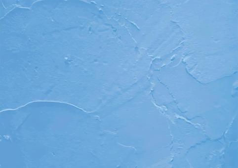 天藍色塗料牆
