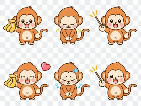可愛的猴子圖素材集