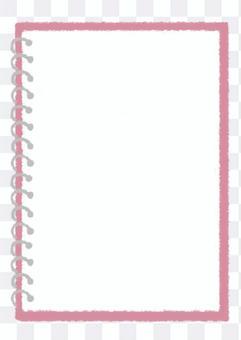 環 notebook_pink 手繪插圖