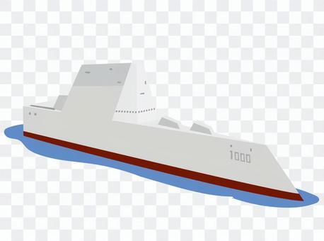 祖姆沃爾特級導彈驅逐艦