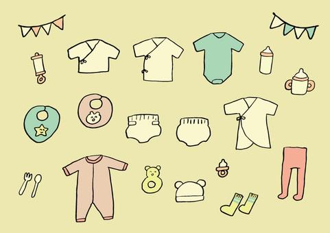 嬰兒護理套裝1